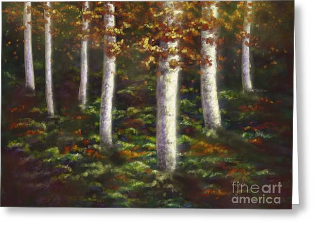 Autumn Ghosts Greeting Card