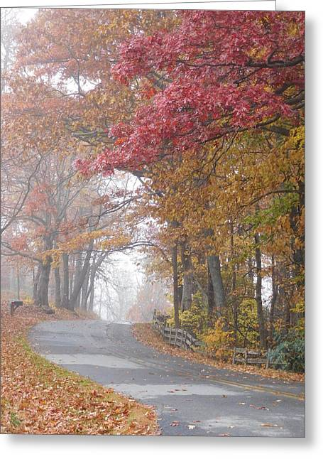 Autumn Glory Greeting Card