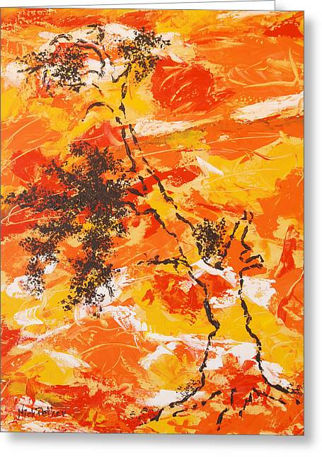 Autumn Glory Greeting Card by Nick Petkov