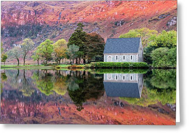 Autumn, Gougane Barra Greeting Card by Mike Brown