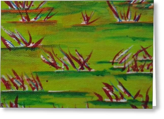 Autumn Grass Greeting Card
