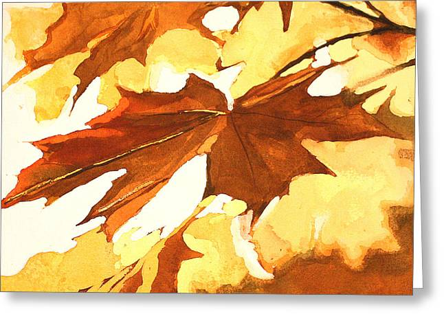 Autumn Greeting Greeting Card