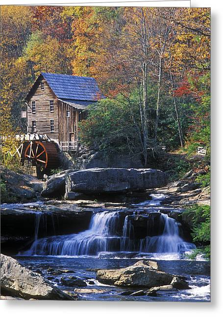Autumn Grist Mill - Fs000141 Greeting Card