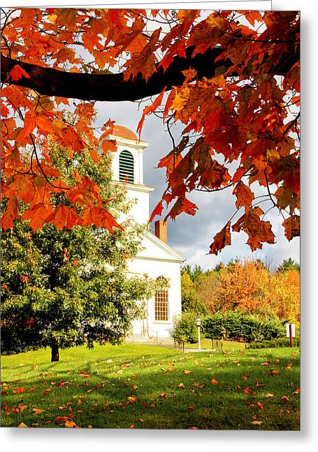 Autumn In Gilmanton Greeting Card