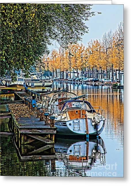 Autumn In Holland-2 Greeting Card by Casper Cammeraat