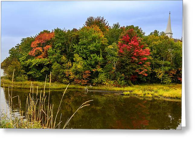 Autumn In Mabou Greeting Card