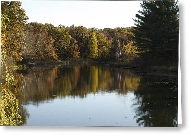 Autumn In Mears Michigan Greeting Card