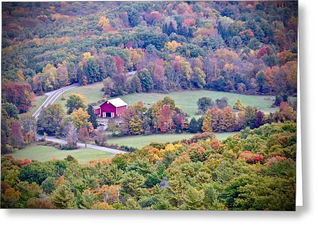 Autumn View, Mohonk Preserve Greeting Card