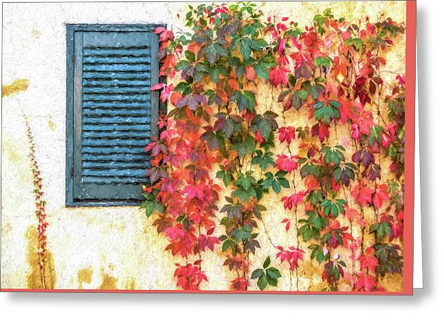 Autumn In Napa Greeting Card