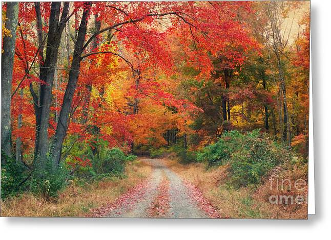 Autumn In New Jersey Greeting Card