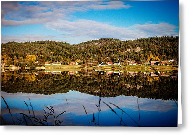 Autumn In Norway Greeting Card by Mirra Photography