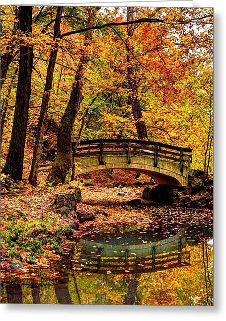 Autumn In Ohio Greeting Card by David Kelso
