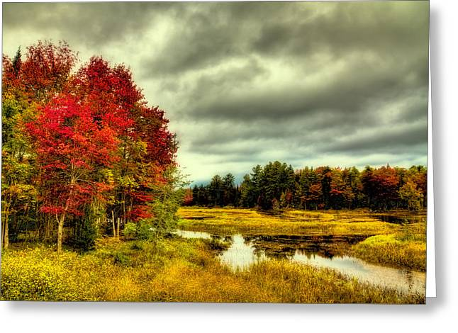 Autumn In Old Forge Greeting Card