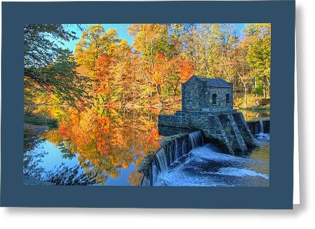 Autumn In Speedwell Park 2 Greeting Card
