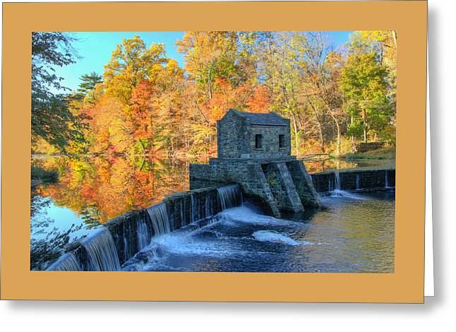 Autumn In Speedwell Park Greeting Card
