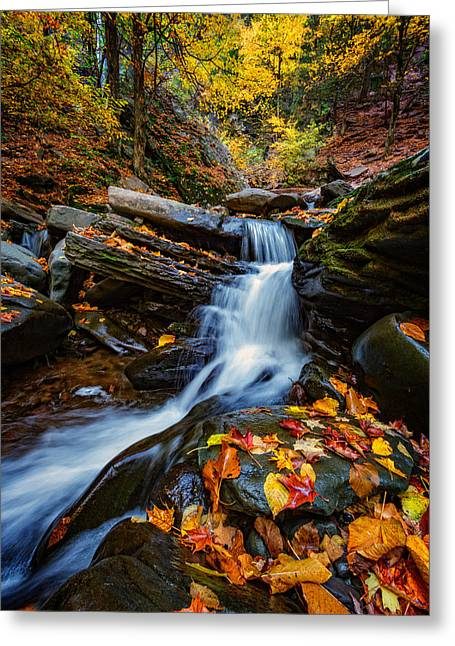 Autumn In The Catskills Greeting Card