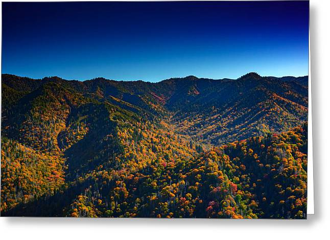Autumn In The Smokies Greeting Card by Rick Berk
