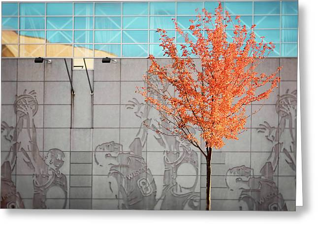 Autumn Kohl Center Greeting Card