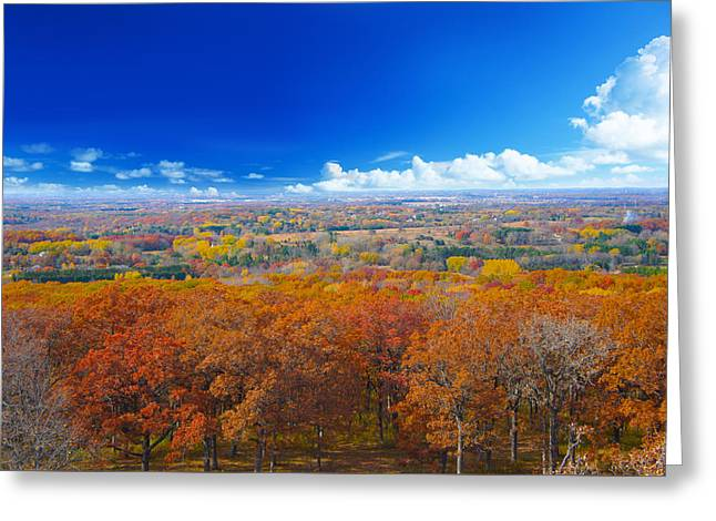 Autumn Landscape I Greeting Card by Art Spectrum