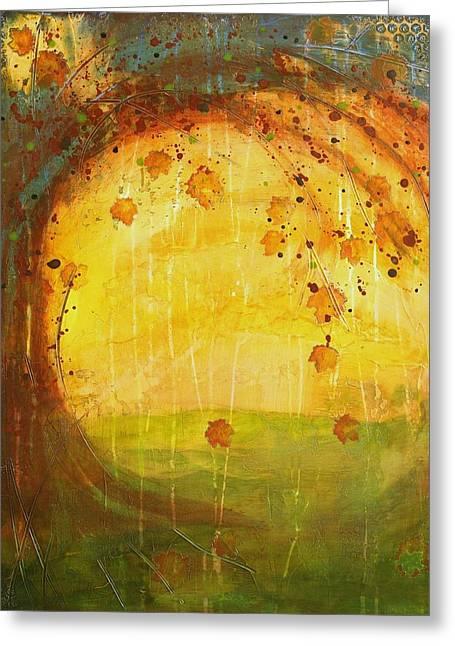 Autumn Leaves - Tree Series Greeting Card