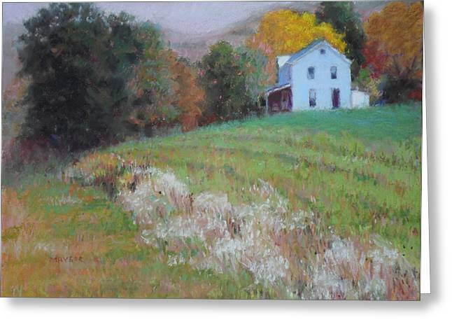 Autumn Scenes Pastels Greeting Cards - Autumn Melody Greeting Card by Julie Mayser