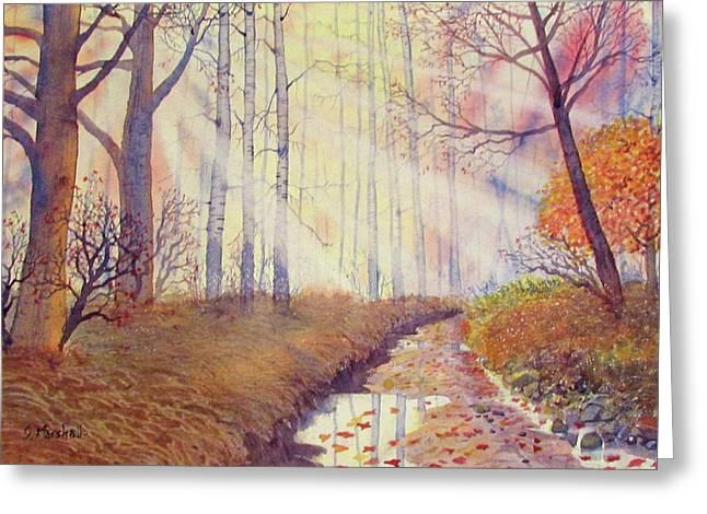 Autumn Memories Greeting Card