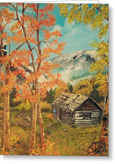 Autumn Memories Greeting Card by Sharon Duguay