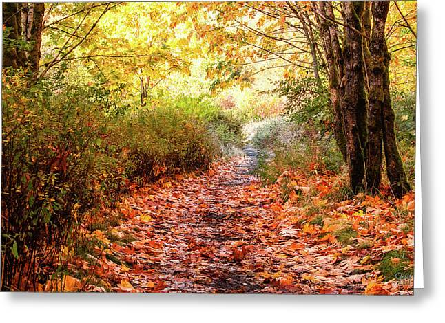 Autumn Morning Greeting Card