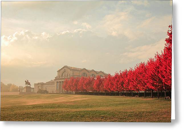 Autumn On Art Hill Greeting Card