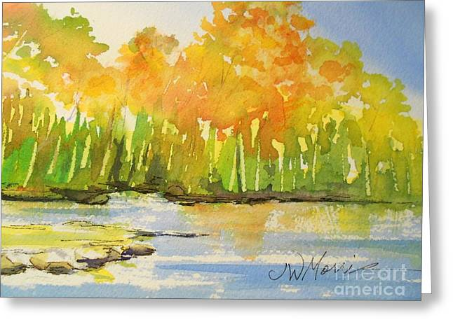 Autumn On Lake Lanier Greeting Card