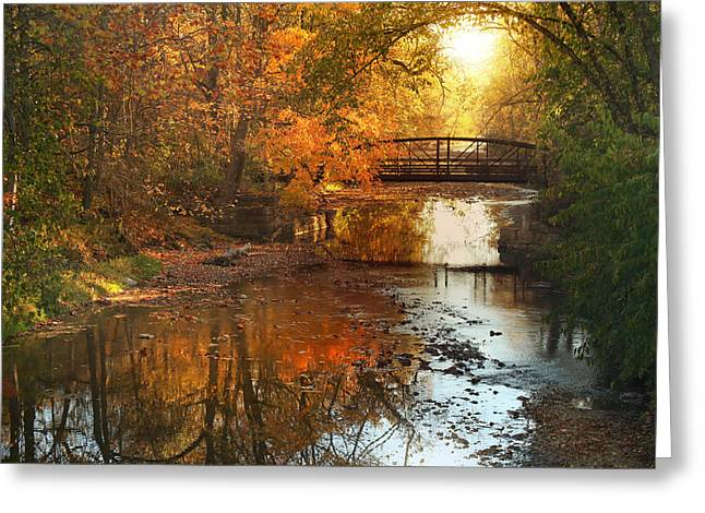 Autumn Over Furnace Run Greeting Card by Rob Blair