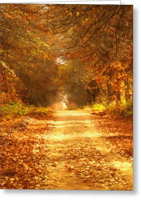 Autumn Paradisium Greeting Card