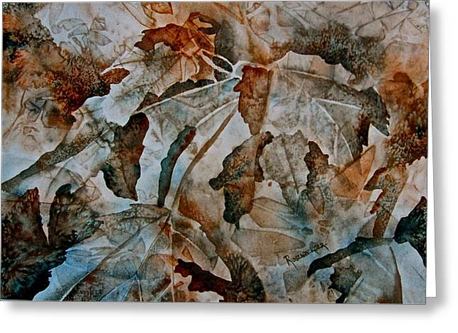 Autumn Patterns Greeting Card