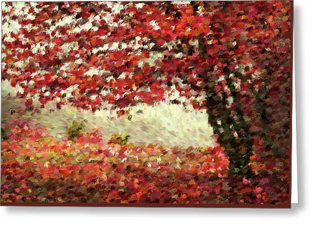 Autumn Radiance Impressionism Wall Art Greeting Card