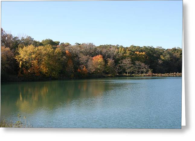 Autumn Reflections Greeting Card by Gregory Jeffries