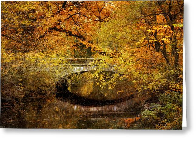 Autumn River Views Greeting Card by Jessica Jenney