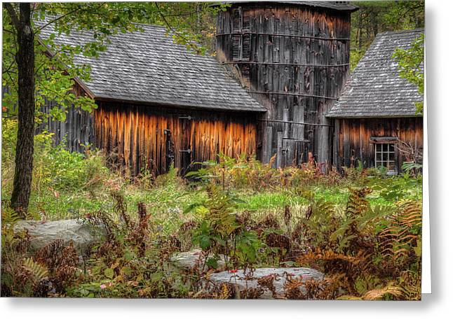 Autumn Rustic 2016 Square Greeting Card by Bill Wakeley