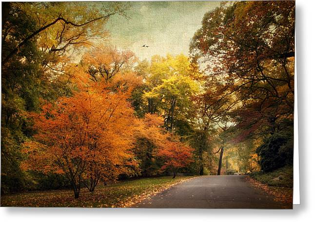 Autumn Settles In Greeting Card