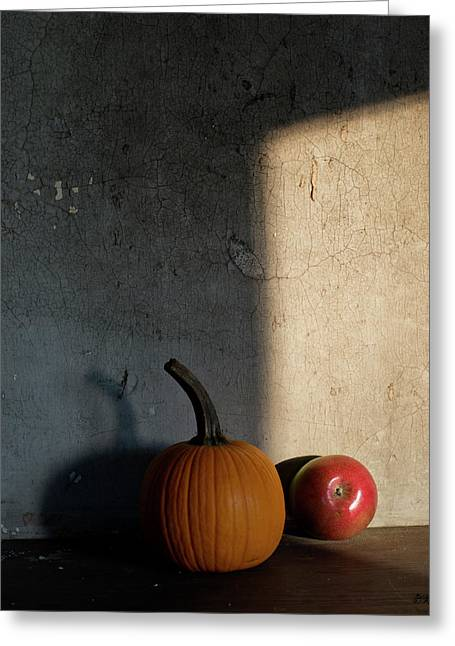 Greeting Card featuring the photograph Autumn Still Life I Color by David Gordon