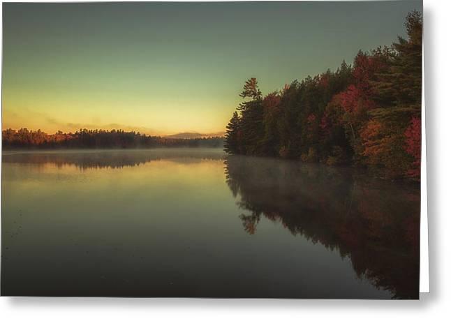 Autumn Sunrise Greeting Card by Chris Fletcher