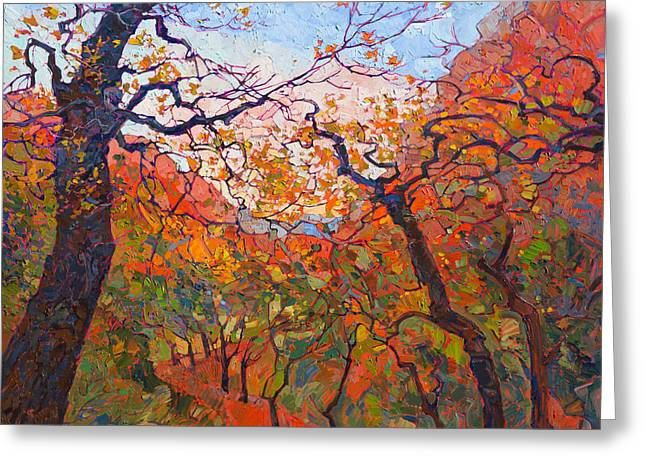 Autumn Tapestries Greeting Card