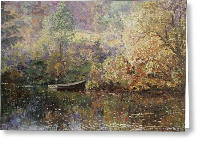 Repulse Greeting Cards - Autumn tenderness Greeting Card by Andrey Soldatenko