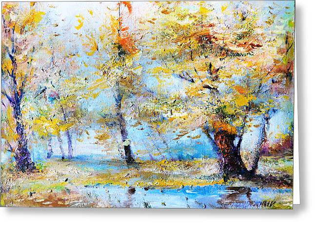 Autumn Tenderness Greeting Card