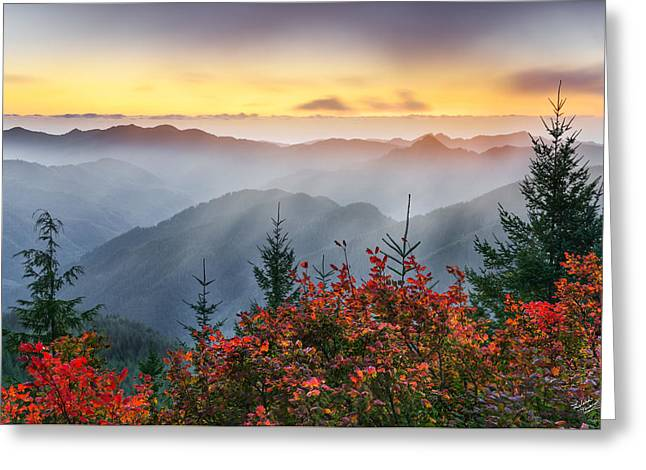 Autumn Tillamook View Greeting Card