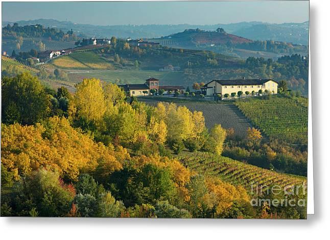 Autumn Valley - Piemonte Greeting Card