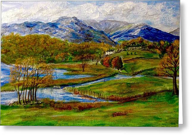 Autumn View Of The Trossachs Greeting Card
