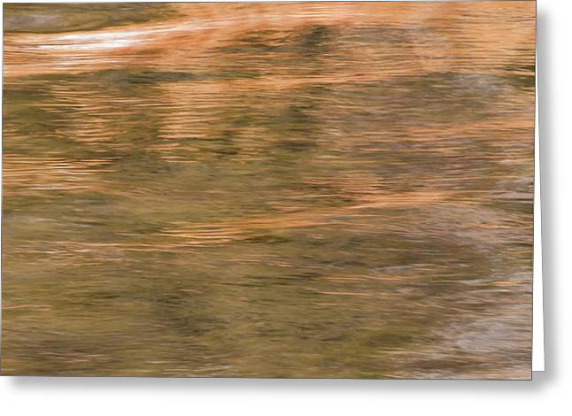 Greeting Card featuring the photograph Autumn Water by Britt Runyon