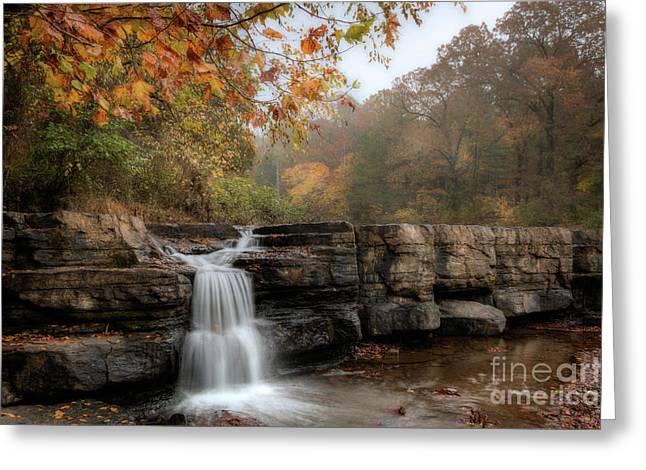Autumn Water Greeting Card