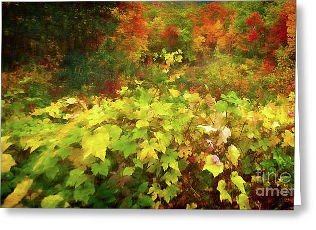 Autumn Watercolor Greeting Card