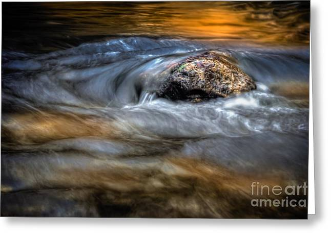 Autumn Waters Greeting Card